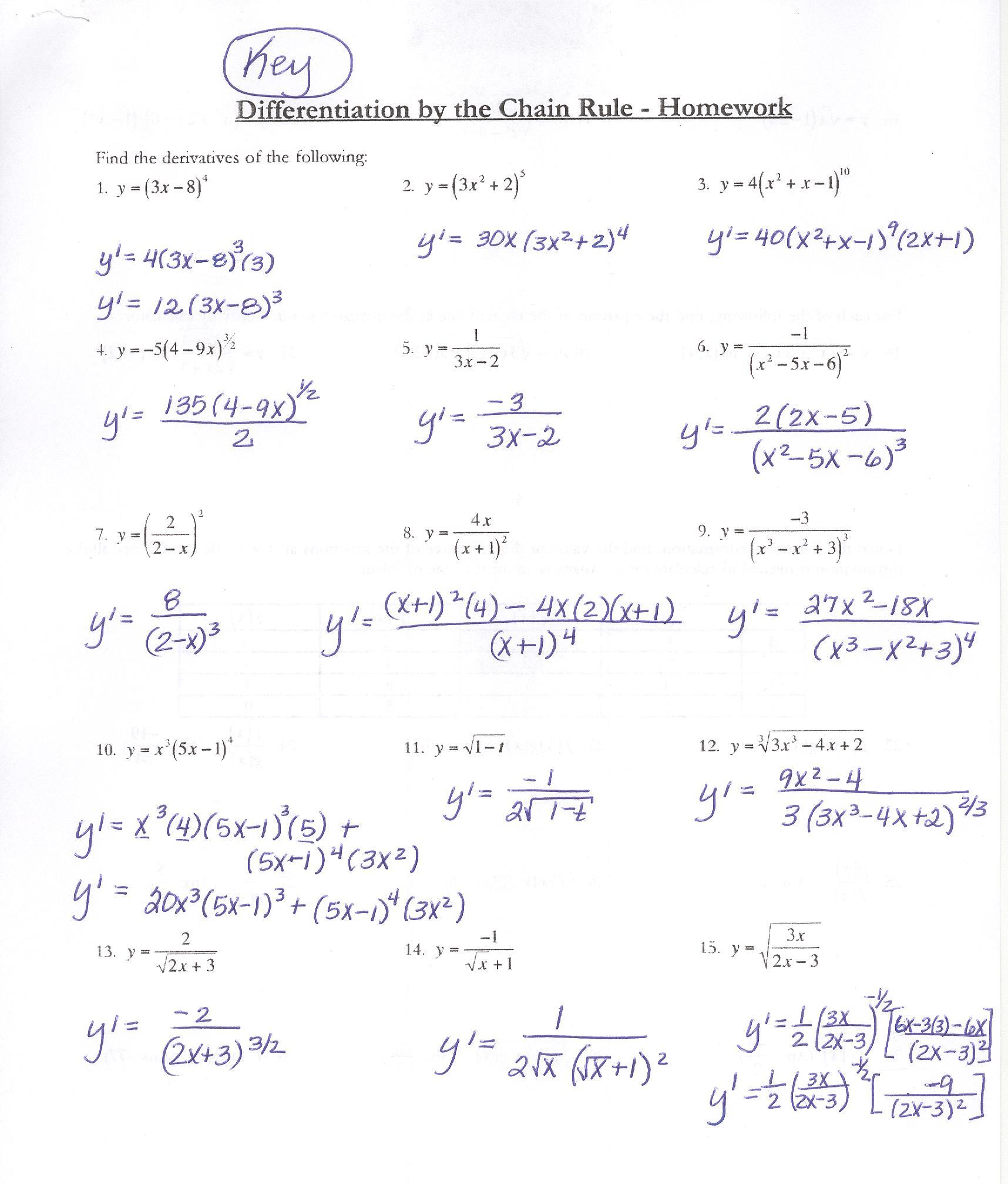 Class Notes - 2015 SEM1 - WHITLEY MATH